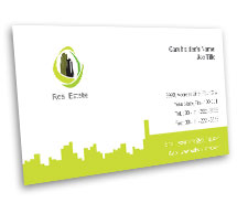 Business Card Templates Real Estate News