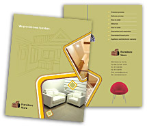 Brochure Templates Stores & Shops The Furniture Stores