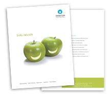 Medical Dental Care brochure-templates