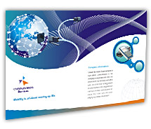 Post Card Templates global communication services
