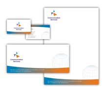 Corporate Identity Templates global communication services