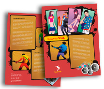 Brochure Templates music clubs