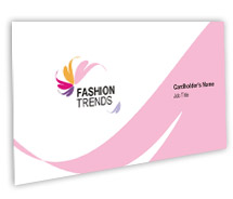 Business Card Templates Fashion Trend