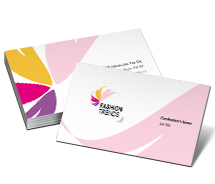 Business Card Templates Fashion Fashion Trend