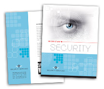 Brochure Templates Residential Security Systems