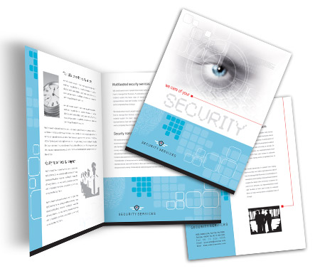 Complete Brochure  View with Layout For Residential Security Systems