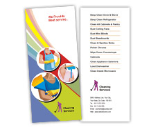 Brochure Templates cleaning services