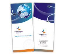 Communications Global Communication Services brochure-templates
