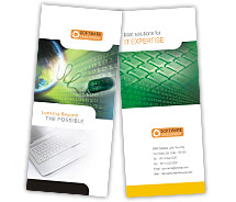 Brochure Templates website developing software