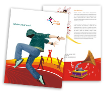 Brochure Templates dance schools