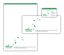 Corporate Identity Templates green energy