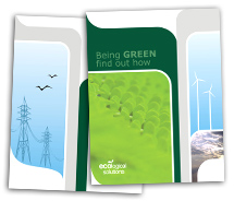 Brochure Templates green energy