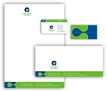 Computers Internet Business Solutions corporate-identity-templates
