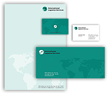 Corporate Identity Templates worldwide logistics