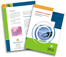 Brochure Templates financial services