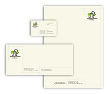 Corporate Identity Templates home construction