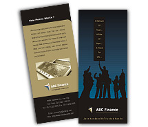 Brochure Templates financial advisor