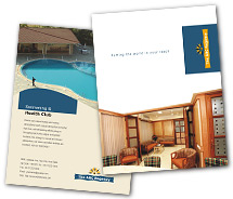 Hotels Affordable Hotel brochure-templates