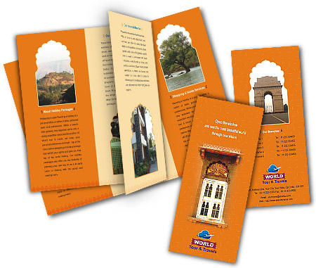 Complete Brochure  View with Layout For Luxury Travel