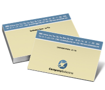 Business Card Templates electronic suppliers