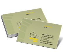 Business Card Templates architecture and construction
