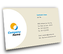 General Wireless Data Communication business-card-templates