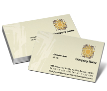 Business Card Templates art supplier
