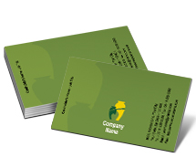 Business Card Templates gardening pots