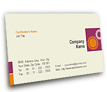 General Industrial Development BusinessCardTemplates