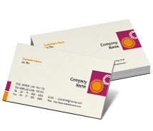 Business Card Templates industrial development