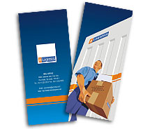 Brochure Templates logistics companies