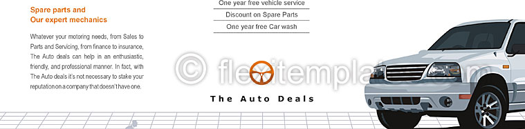 Actual Brochure  Design For Automobile Dealers