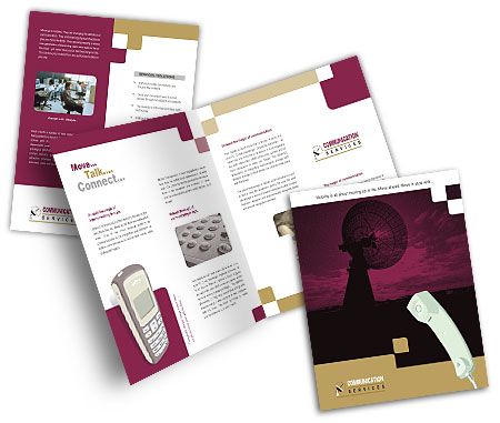 Complete Brochure  View with Layout For Communication Centre