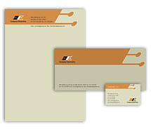 Corporate Identity Templates electronics corporation