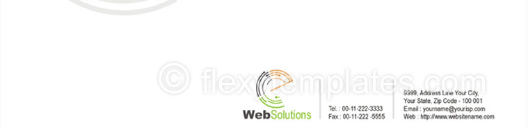 Actual Corporate Identity  Design For Website Solution