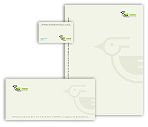 Corporate Identity Templates bird and pet clinic