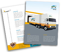 Brochure Templates transportation services
