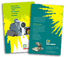 Brochure Templates Electronics Digital Camera Accessories