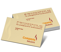Business Card Templates oil agency