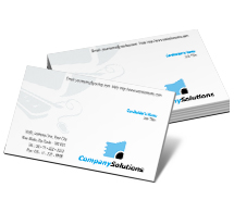 Business Card Templates business computers