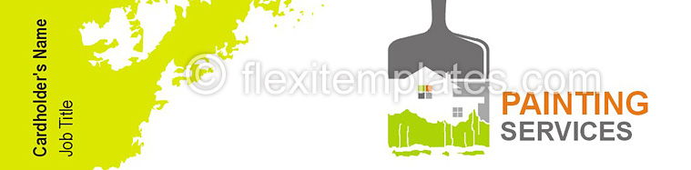 Actual Corporate Identity  Design For Painters Services