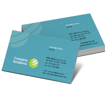 Business Card Templates global communication
