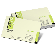 Business Card Templates garden consultant