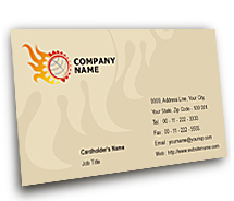 Business Card Templates General Industrial Machines