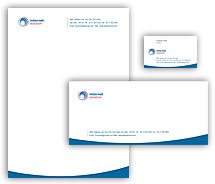 Corporate Identity Templates internet business solutions