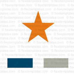 Complete Logo  View with Layout For Star Hotel