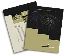 Communications Telecom Systems brochure-templates