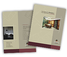 Brochure Templates architectural drafting service