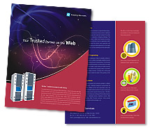 Brochure Templates web server hosting