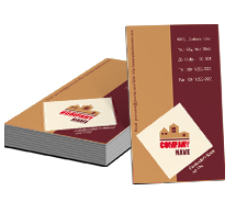 Business Card Templates construction company